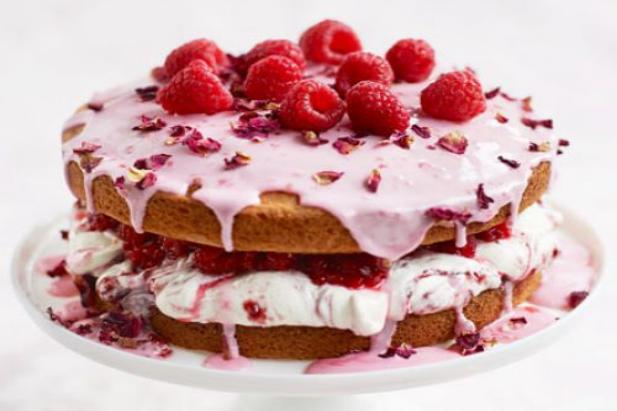 Bbc Raspberry And White Chocolate Cake